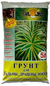 Грунт БИУД для пальмы, драцены, юкки 5л (6шт)