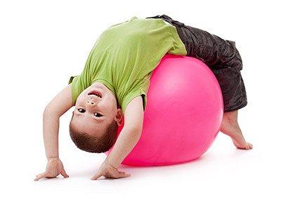 61*Товары для спорта, туризма и путешествий* — Гимнастические детские мячи — Фитнес