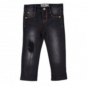 Брюки детские текcтильные джинсовые для мальчиков