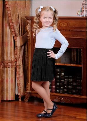 Школьная юбка Элла, цвет черный
