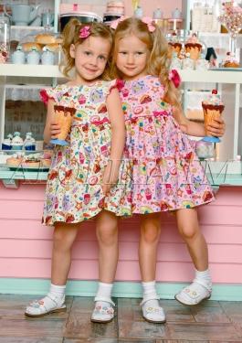 ALO❄LIKA. Школа+ праздничная коллекция — Суперские хлопковые платья. — Платья и сарафаны