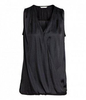 Блуза МАМА H&M Чёрного цвета