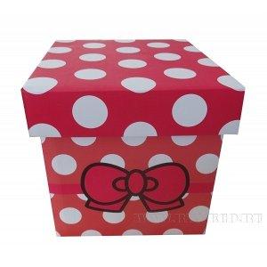 Коробка подарочная  (складная), L21 W21 H21 см (б/инд.уп.)
