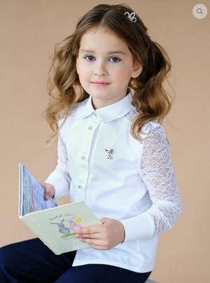 Блузка длинный рукав. Короткий рукав.