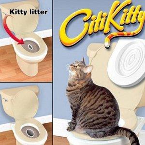 Набор для приучения кошки к унитазу