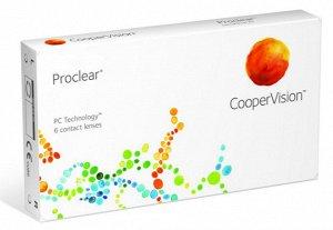 1-мес контактные линзы PROCLEAR (6 линз)