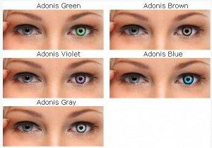 Цветные контактные линзы Illusion Fashion Adonis (2 линзы)