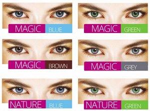 Цветные контактные линзы Illusion Geo (2 линзы)