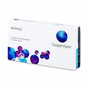 1-мес контактные линзы Biofinity (силикон-гидрогель) (6 линз)