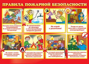Плакат по пожарной безопасности
