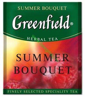Чай Гринфилд Summer Bouquet  пакет. для Horeka 2г 1/100/10