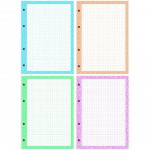 Сменный блок 200л., А5, OfficeSpace, 4 цвета, дизайнерский блок, пленка т/у