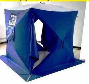 Зимняя палатка КУБ утепленная