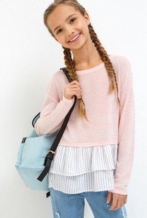 Блузка детская для девочек Elena светло-розовый