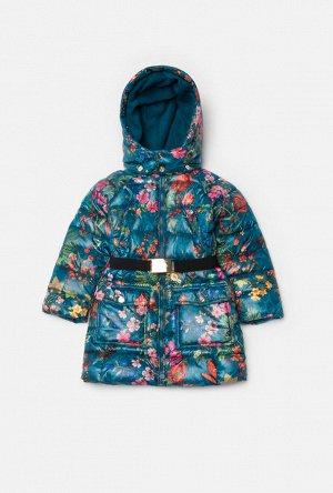 Пальто детское для девочек Norma1 синий