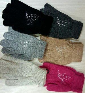 Перчатки Ангорка, большие, от 10 лет.