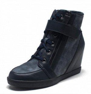 Маранты тёмно-синие на шнурках. 38,5