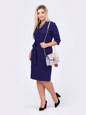 Стильное платье -48 размер