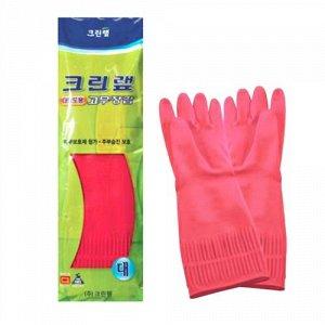 Уплотненные перчатки из натурального латекса (опудренные) красные размер ХL, 1 пара / 100