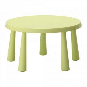 МАММУТ Стол детский, д/дома/улицы светло-зеленый светло-зеленый 2 упаковки