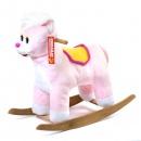 Кот-качалка (розовый) ЭКО См-750-4К 59215