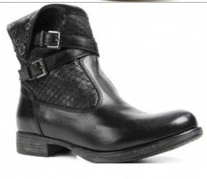 Ботинки Кожа мех в стопе