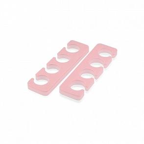 Разделители для пальцев ног (розовые, 10 мм), RuNail (Арт. 0807)
