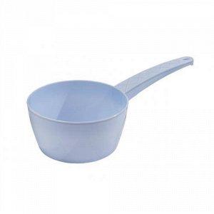 Ковш 1,0л Ковш 1,0л. Размеры изделия: Д / Ш / В 290 / 150 / 80 мм.Ковш подойдет для зачерпывания и переливания жидкостей, пересыпания сыпучих продуктов, а также для использования в ванной и в саду. У