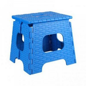 Табурет Табурет [ПЛЕТЁНКА] МАЛЫЙ складной. Размеры изделия: Д / Ш / В  270 / 310 / 275 мм. Размеры сидения: длина 230мм, ширина 270мм, высота в сложенном виде 390мм.