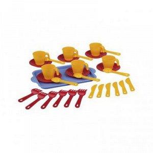 Набор дет. Набор детской посуды 6 персон [ХОЗЯЙКА]. Размеры изделия: Д / Ш / В270 / 160 / 50мм.