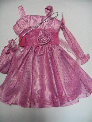 23. Платье розовое в горошек Артикул: П-42