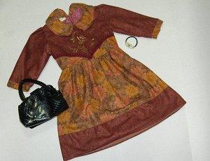 32. Платье коричневое Артикул: П-54