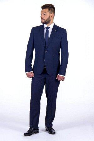 Костюм ПРИСТРОЙ УЧАСТНИКА +79147901323 цена 4243  Состав,шерсть-50%, вискоза-47%, эластан-3%,Модель,костюм приталенный,Цвет,синий,Фактура,узор