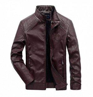 Куртка мужская, цвет бургундия