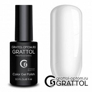 Grattol Color Gel Polish №1 White