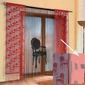 578А, Fotel (кресло), дизайнерская панель РОЗОВОГО цвета, размеры: 150 см ширина  * 250 см высота