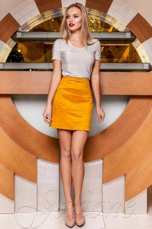 Очень красивая юбка из эко-замши