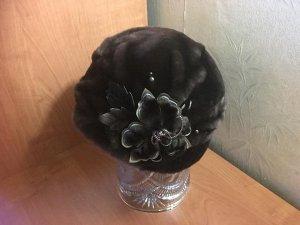 Женская шапка из мутона (реальные фото внутри)