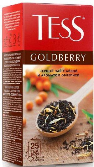 Чай Тесс Goldberry tea 1,5г х 25 пакетиков