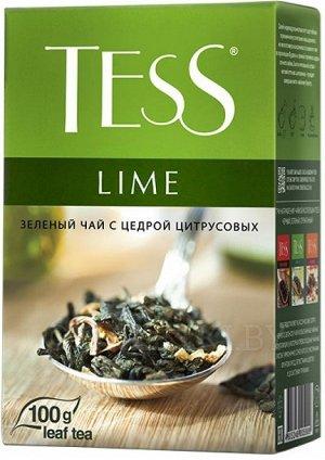Чай Тесс Lime green tea 100г 1/15