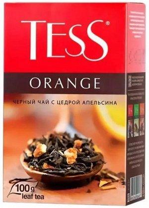 Чай Тесс Orange black tea 100г 1/15