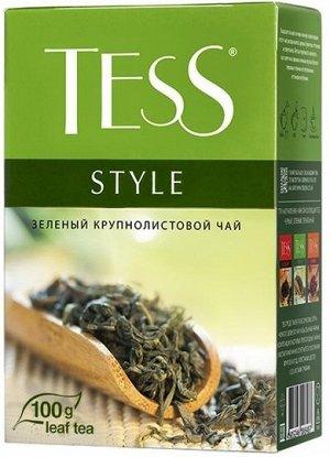 Чай Тесс Style green tea 100г 1/14