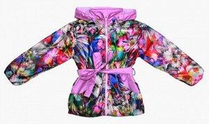 Куртка для девочек на флисе