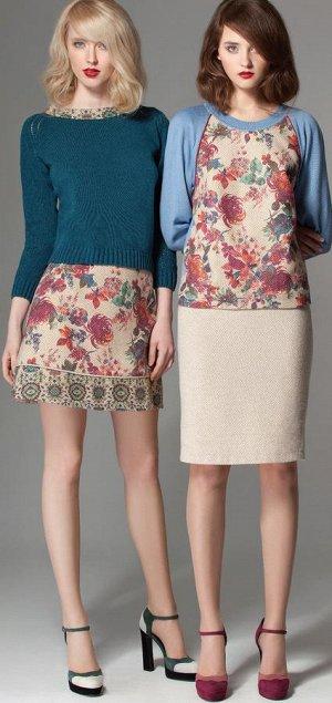 Юбка M*O*Z*A*R*T, юбка справа, 50% шерсть 50% PL