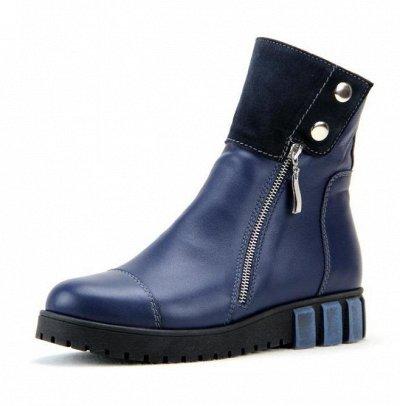 ~ED`ART - Стильная, комфортная обувь. Натуральная кожа. — Ботинки зима (шерсть) — Зимние