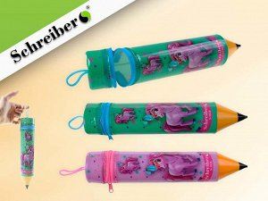 """Пенал-""""карандаш"""" пластиковый ПОНИ, 5х26 см"""