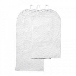 ПЛУРИГ,Чехол для одежды, 3 штуки, прозрачный белый