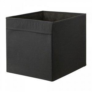 ДРЁНА Коробка, черный 3 шт.