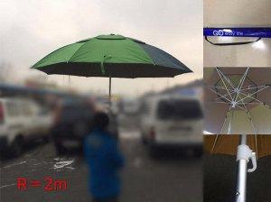 Зонт пляжный двойной