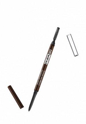 .Пупа карандаш д/ бровей High Definiton   new  002 коричневый